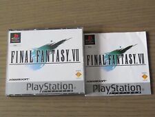 JEU PLAYSTATION PS1 FINAL FANTASY VII  COMPLET EN FRANCAIS ,