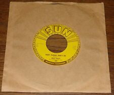 "BILLY RILEY ~ WOULDN'T YOU KNOW b/w BABY PLEASE DON'T ~ ORIGINAL USA SUN 7"" 1958"