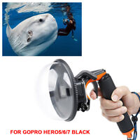 Diving Underwater Camera Cover Lens Hood Dome Port for Gopro Hero 5/6/7 Camera