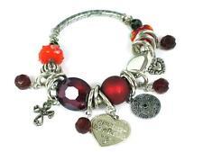 Celtic love charm bracelet, ~ Red , Norse, Celtic. Gaelic