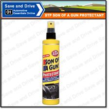 STP Son Of A Gun Protectant Car Interior Dash Vinyl Rubber Plastic Shine 300ml