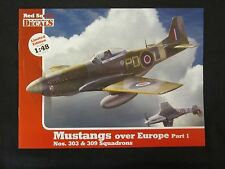 Kagero: 1/48 Decals for Mustangs over Europe Part 1. Nos. 303 & 309 Squadrons