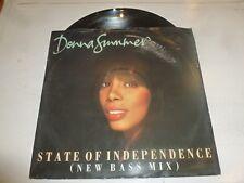 "DONNA SUMMER - State Of Independence - 1990 UK 3-track vinyl 12"" single"