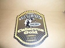OLD SLEWFOOT  CABARRUS GOLD Beer Pump Clip Pub Bar Collectible man cave