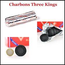 Charbon THREE KINGS NARGUILE/CHICHA/SHISHA/ENCENS (3 Mages Hot
