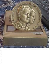 Presidential Bill Clinton / Al Gore bronze 1997 official inaugural medal -NIB