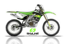 2006 2007 2008 KXF 250 GRAPHICS KIT KAWASAKI KX250F KX F 250F DECO MX DECALS