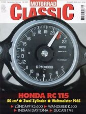 MC0005 + WANDERER K 500 + DUCATI T 98 + BAUMM II + MOTORRAD CLASSIC 5 2000