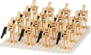 20 X STAR WARS BATTLE DROID MINI FIGURES ARMY NEW(FitLego)