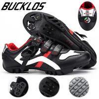 BUCKLOS MTB Road Bike Shoes Cycling Shoes Men Women Buckle Strap Riding Shoes
