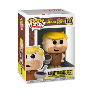 Funko POP! Ad Icons - Cocoa Pebbles - Barney Rubble with Cereal - IN STOCK