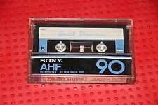 USED TAPES!!     SONY  AHF  90   VS. II  BLANK CASSETTE TAPE (1) (USED)