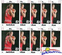 (20) 2007/08 Topps #9 Joakim Noah ROOKIE Lot Chicago Bulls $80+++