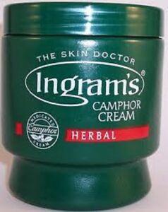 Camphor Cream Herbal (Ingram's) 500g