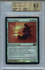 MTG Serra Avatar  BGS 9.5 Magic 2013 M13 Mystic Foil Magic Card Amricons 0995