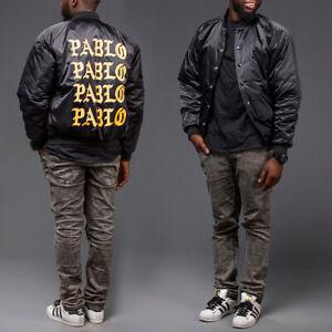 KANYE WEST I FEEL LIKE PABLO BOMBER JACKET BLACK