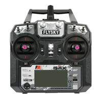 Flysky FS-i6X 2.4G 6CH Transmitter TX For Fixed-wing Glider RC Drone Quadcopter