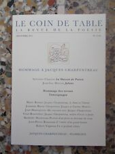 Hommage à Jacques Charpentreau (Le Coin de table, no 67-68)