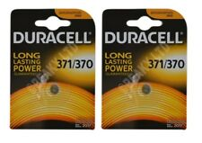 VALUE PACK! 2 x Genuine Duracell 370 SR920W Silver Oxide Watch Battery 1.55v