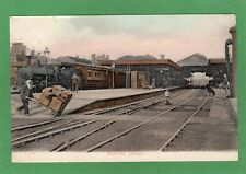 Railway Station Bletchley pc used 1906 R A C Ref H933