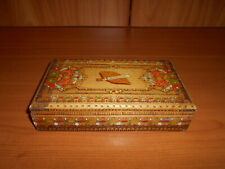 VERY BEAUTIFUL CIGARS BOX WITH HOLDERS FROM BULGARIA--IN GOOD CONDITION--lot 21