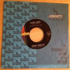 Johnny Burnette 45 Clown Shoes / The Way I Am