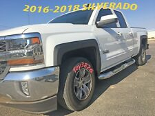 FACTORY STYLE FENDER FLARES FOR 2014-2018 CHEVY SILVERADO 1500 / 2500HD / 3500HD