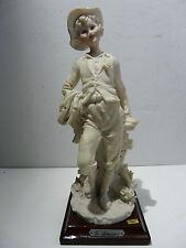 Giuseppe ARMANI CAPODIMONTE FLORENCE personaggio allegoria n. 3 BEIGE PORCELLANA sign.