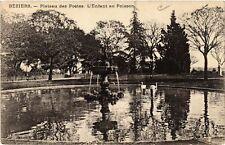 CPA  Béziers - Plateau des Poétes -L'Enfant au Poisson    (518640)