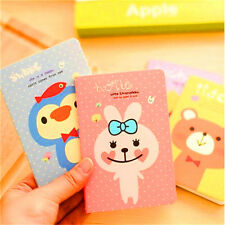 FD2518 Cartoon Animal Notepad Memo Paper Diary Notebook Exercise Note Book 1pc