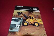 Michigan L50 Wheel Loader Dealer's Brochure DCPA4
