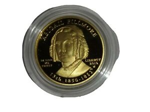 2010 Abigail Filmore First Spouse 1/2 ounce Proof Gold Coin