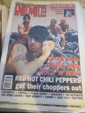 NME 8/20/94  Red Hot Chili Peppers  Rolling Stones  Public Enemy