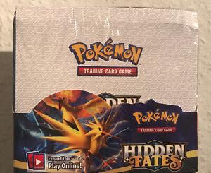 Pokemon Hidden Fates Display Neu OVP (Keine Offiziellen Traiding Karten )!