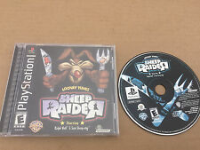 Looney Tunes: Sheep Raider Complete Sony Playstation PS1 Infogrames Tested Rare