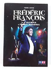 DVD François, Frédéric - Tour 2008, de l'Olympia à Forest National
