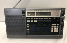 Vintage SONY ICF-2010 SHORT WAVE RADIO AIR FM LW MW SW PLL Synthesized Receiver