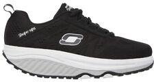 Used Skechers Shape-Up's 2.0 57000 Black Walking Toning Shoes Womens Size 8
