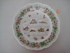"Royal Doulton BRAMBLY HEDGE 10 1/2"" 2003 placa de calendario inglés Bone China 1st"