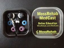 Non-Branded EarPhones with 3 pair colored buds