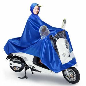 Waterproof Universal Rain Coat Mobility Scooter Hooded Coat Cape Poncho