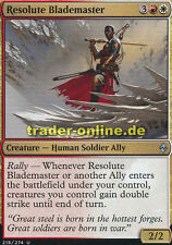 2x Resolute Blademaster (Entschlossener Klingenmeister) Battle for Zendikar Magi