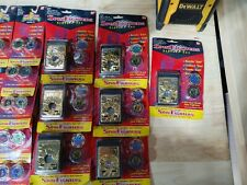 Lot of 41 PC Mighty Morphin Power Rangers Spin Fighters 1993