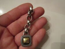 SOLID STERLING DESIGNER PENDANT WITH GOLD PLATING - 15 GRAMS - BBA-8