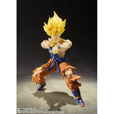 Bandai S.H.Figuart Dragon Ball Z Super Saiyan Son Goku Warrior Awakening Version