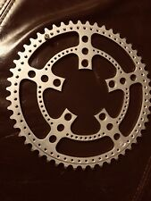 Chainring VINTAGE 2 Stronglight 99. FACTORY DRILLED 86 BCD  Single or outer. NOS