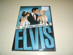 LIVE A LITTLE , LOVE A LITTLE : ELVIS PRESLEY   USA  REGION 1 DVD NEW SEALED