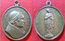 MEDAGLIA PIO IX BRONZO 1816