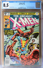 X-Men 129 CGC 8.5 White pages, First Kitty Pryde and Emma Frost