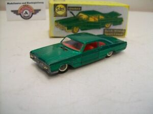 Siku V 255 Sportcoupe, 1965, green metallic, Siku (Germany) 1:60
